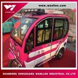 Microbús de la rueda del triciclo tres del uso del pasajero de Asia