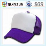 Kundenspezifische lederne Höchstineinander greifen-Baseballmütze mit Ihrem Firmenzeichen