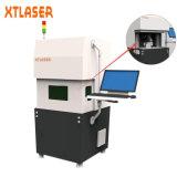 China schloß Faser-Laser-Markierungs-Maschine des Metall20w mit sich schützen ein