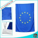 Polyester-hängende Fahne/Bekanntmachen der Markierungsfahnen-Fahne