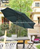 مستديرة حديقة فناء [أو] مظلة خارجيّة مع مظلة شمسيّ
