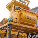 betoniera elettrica obbligatoria dell'asta cilindrica gemellare 500L (JS500) sulla vendita