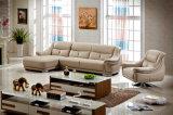 Modernes ledernes Sofa des preiswerten Preis-2015 (2108)