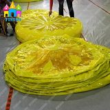Il nuovo limone gonfiabile dell'anguria del giocattolo dell'acqua della sosta dell'acqua che fa galleggiare l'aria del PVC fa galleggiare la stuoia