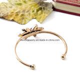 Braccialetto semplice dell'a cristallo del polsino di colore della caramella del braccialetto della lega dei monili di modo