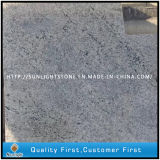 New Kashmir White Granite Kitchen Countertop with Undercut Sink