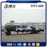 máquina Drilling usada portátil da água de 600m