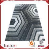 Tapete Shaggy original macio moderno do tapete de área com efeitos 3D