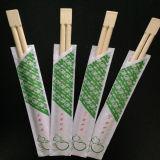palillos gemelos de los 21cm con la cubierta de papel abierta