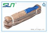 Wstda 100%년 폴리에스테 둥근 새총 (W.L.L. 16800LBS)