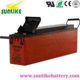Sonnenenergie-Vorderseite-Zugriffs-Terminaltelekommunikationsbatterie 12V80ah für Telekommunikation