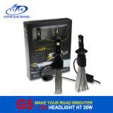 Дешевый Headlamp автомобиля цены 20W 2600lm H7 СИД 6500k