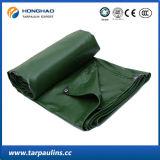 Encerado impermeável verde do PVC de Factroy da alta qualidade 2*2