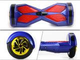 Голубой скейтборд баланса собственной личности зуба с 2 колесами
