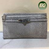 Bourse neuve à la mode de filles de qualité de sac de Madame embrayage avec la configuration de peau de serpent faite dans l'usine Sh149 de la Chine