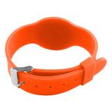 Pagamento reusável do Wristband do silicone RFID de Willkommen para Disneylâandia