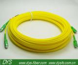 APC Sm de Duplex 3.0mm van Sc Kabel van het Flard van de Vezel Optische