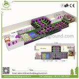 Parque comercial de interior grande del trampolín de la ventaja competitiva