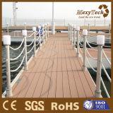 Decking de madera del compuesto WPC de la capacidad grande del cargamento del muelle del puerto deportivo