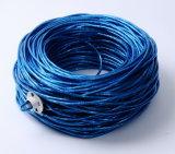 De Cat5e UTP da rede 305m do cabo PVC azul Bc