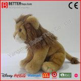 Leoa macia do leão realístico do brinquedo do luxuoso dos animais En71 enchidos