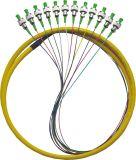 Pigtails FC/Sc/St/LC/Mu/E2000 de fibra óptica