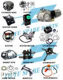 4 movimiento 50cc, 70cc, 90cc, piezas del motor de 110cc Moto