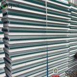 40mmの高密度カラー鋼鉄によって絶縁されるEPSサンドイッチパネル