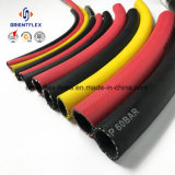 Schwarze Farben-Faser-umsponnener Hochdruckluft-Schlauch
