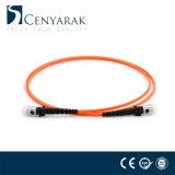 Cuerda de corrección óptica con varios modos de funcionamiento hembra-varón de fibra de MTRJ 50/125
