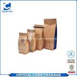 Wasserdichter wiederversiegelbarer Kaffee-Papierbeutel stempelschneiden