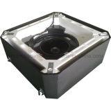Hydronic Decken-Kassetten-Ventilator-Ring-Gerät mit elektrischer Heizung