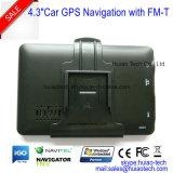 Navigateur GPS sans fil de 4,3 po pour ordinateur portable avec 128 Mo de DDR, 4 Go, FM, Bt, Tmc, TV ISDB-T, GPS Carte Navigation GPS G-4306