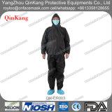 Capa médica del hospital y guardapolvo del aislamiento de los pantalones/bata protectores