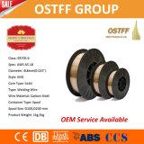 """fil de soudure de MIG de 0.6mm (0.023 """") Er70s-6 Chine avec l'arc stable lisse, éclaboussure inférieure"""
