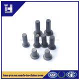 Rivet solide de rivet en aluminium d'opération d'OEM