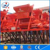 Uno mismo-Diseñado con el mezclador concreto grande de la capacidad Js1500
