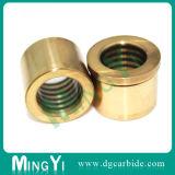 精密オイル溝のダイスを持つ真鍮の金属ガイドブッシュ