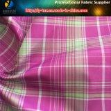 Rasterfeld im Check! Polyester-Jacquardwebstuhl-Check-Garn gefärbtes Gewebe