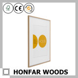 cornice di legno del blocco per grafici di arte di 30X42cm