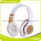Auscultadores sem fio de Bluetooth dos auscultadores com os auscultadores da sustentação FM Radio& do cartão do TF do microfone