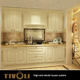 De moderne Witte Keukenkasten van het Ontwerp voor de Volledige Douane tivo-043VW van het Meubilair van het Huis