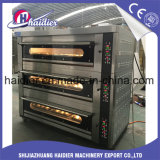 Horno de la cubierta del gas de tres compartimientos con Proofer para la hornada del pan