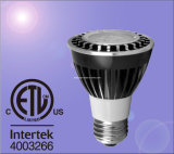 ETL 6.5W Dimmable LED PAR20 반점 빛