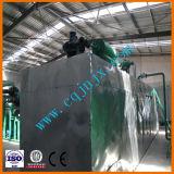 O óleo lubrificante usado recicl o equipamento