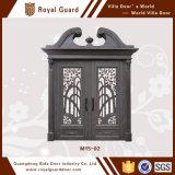 Diseños/aluminio de la puerta del diseño de la puerta de entrada principal/de la entrada principal los solos enmarcan piezas de la puerta