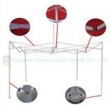 10X10FT wasserdichtes Belüftung-Gewebe-im Freien einfaches hohes Kabinendach-Stahlzelt