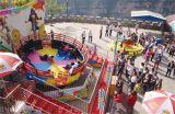 Conduites folles de parc à thème de plaque tournante de disco à vendre