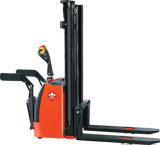 安く十分にACまたはDCモーターを搭載する電気パレットスタッカー1-2ton/