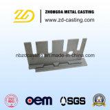 Fundição de aço perdida personalizada da cera para a fornalha